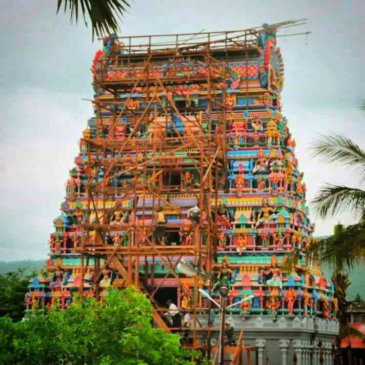 Sri Angalaparameshwari temple in Moreh. Photo credit: Arunabh Saikia