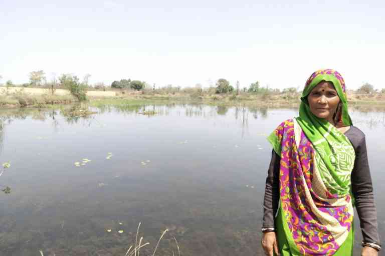 The network of Jal Sahelis across 200 villages in U.P. and M.P. is reviving water harvesting structures and traditional water bodies through community participation. Photo credit: Kanchan Srivastava