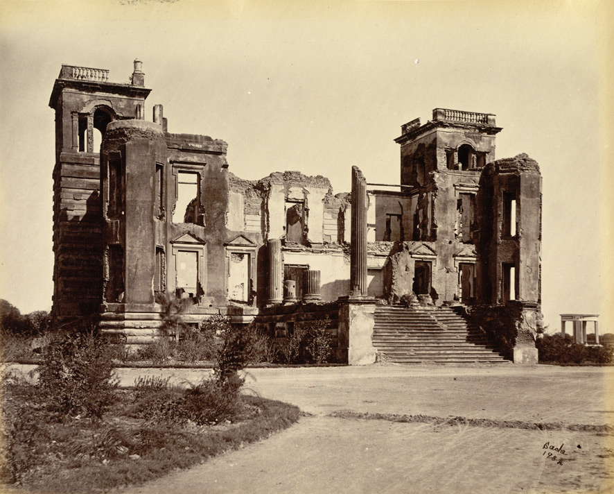 Dilkusha Palace, Lucknow by John Edward Saché, 1870s. Photo credit: British Library, Photo 2/3(145)