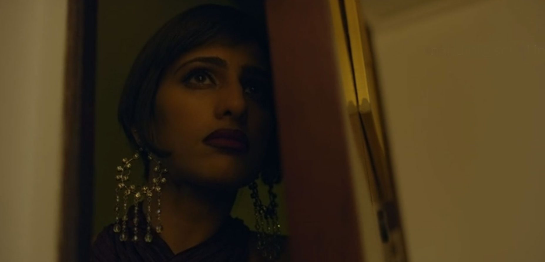 Kubra Sait in Sacred Games. Courtesy Netflix.