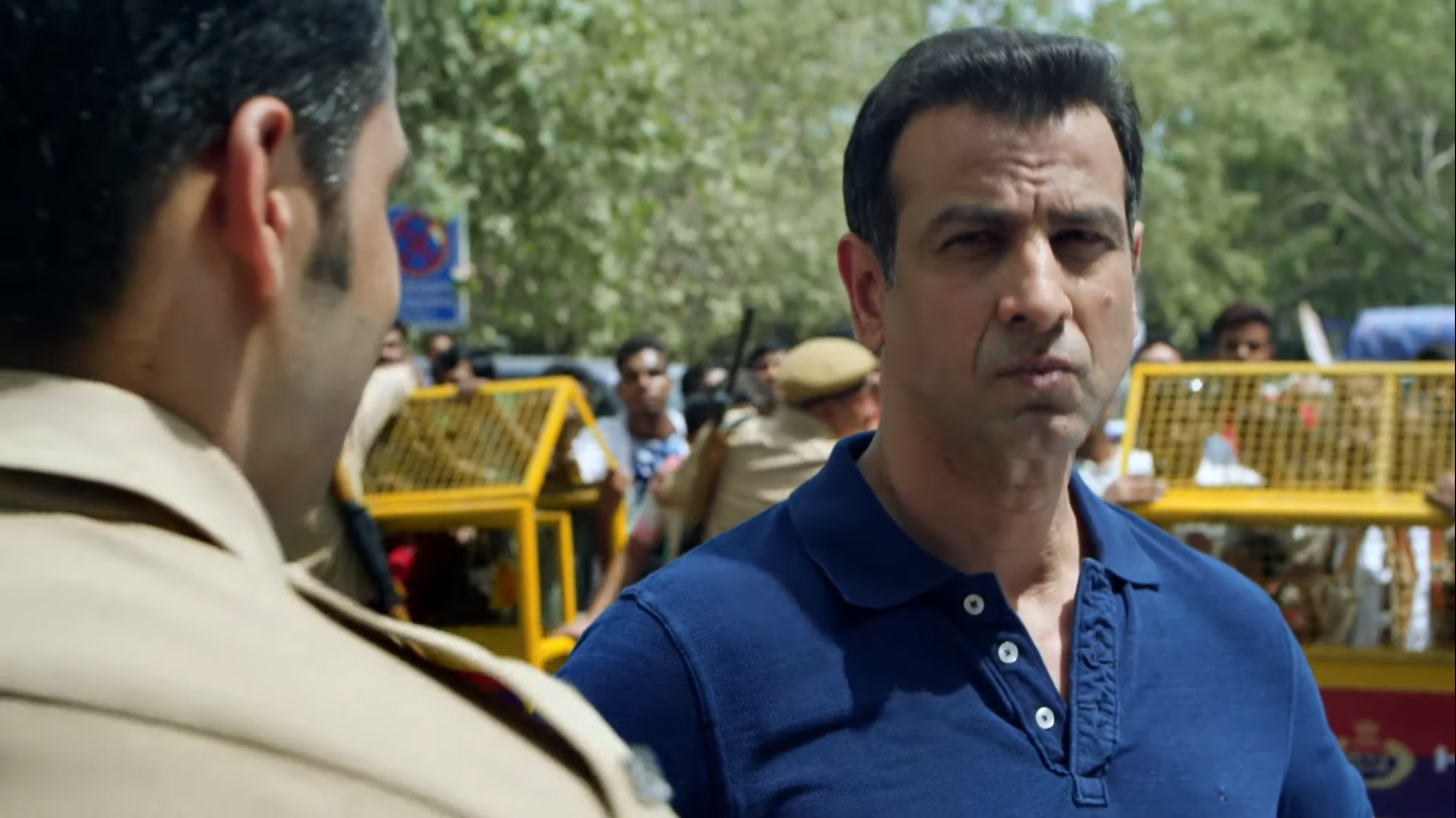 Ronit Roy in Hostages. Courtesy Hotstar.