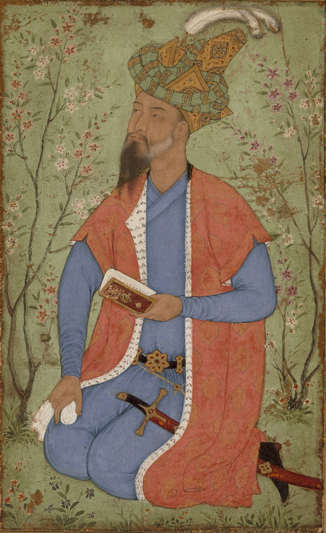 Hindal Mirza, the younger half brother of the second Mughal emperor Humayun. Credit: Wikimedia Commons