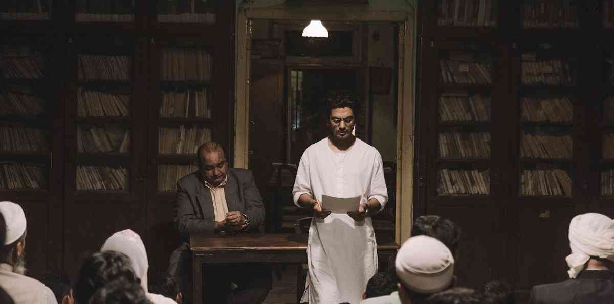 Nawazuddin Siddiqui in Manto (2018). Courtesy Viacom18 Motion Pictures.