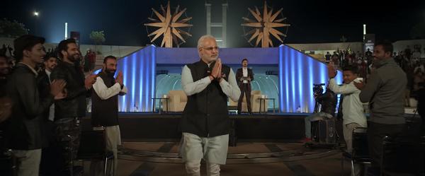 Vivek Anand Oberoi in PM Narendra Modi. Courtesy Legend Global Studios.