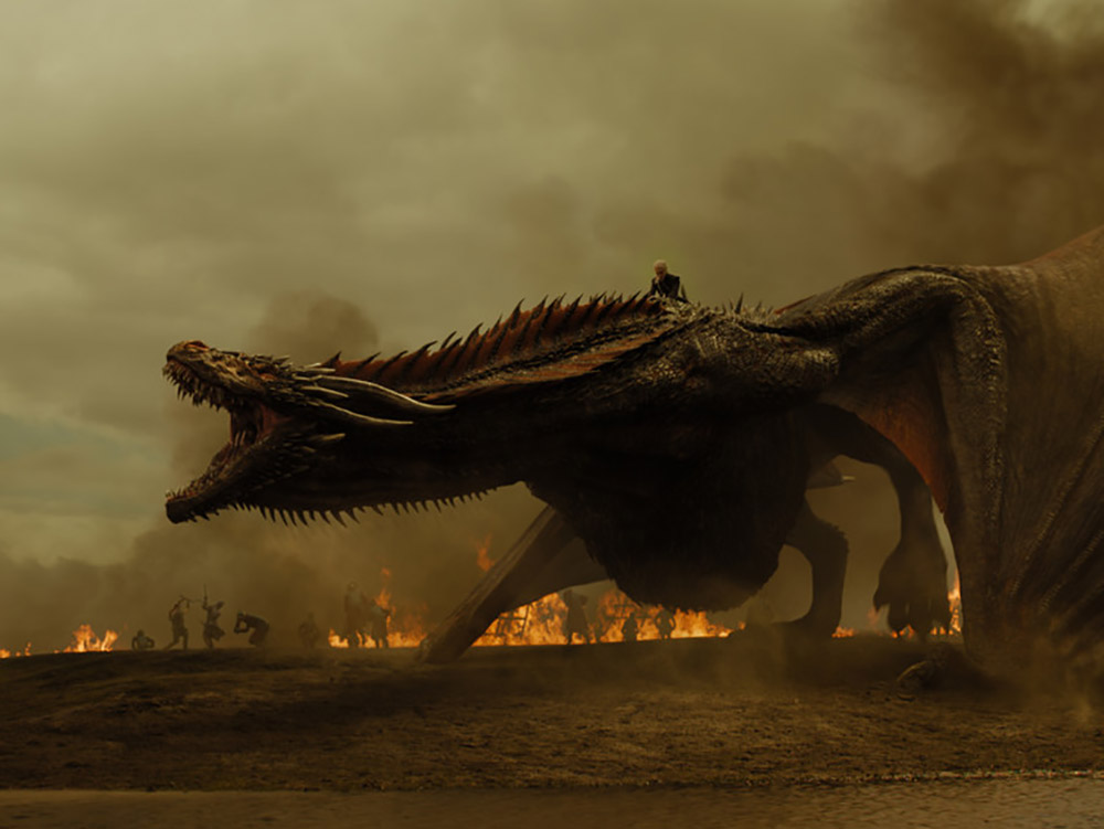 Daenerys Targaryen has a weapon in her bid for victory. Image credit: Home Box office, Inc.