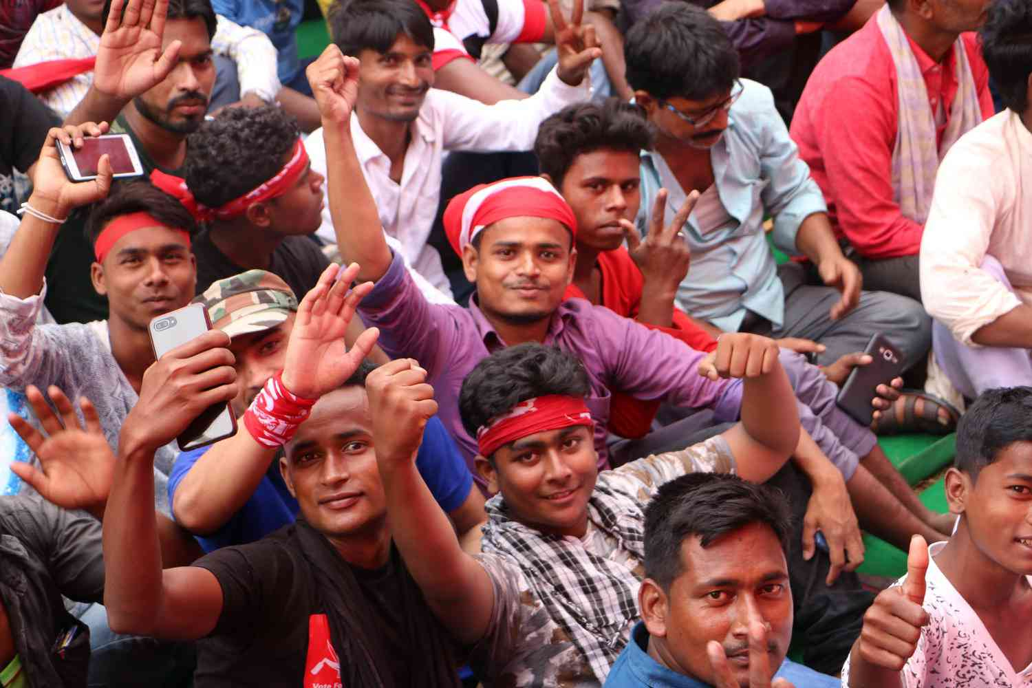 "Enthused by the support of young voters for Kanhaiya Kumar, a middle-aged CPI village leader said: ""Kabr mein se communist nikal aaye"". The communists have emerged from the grave."
