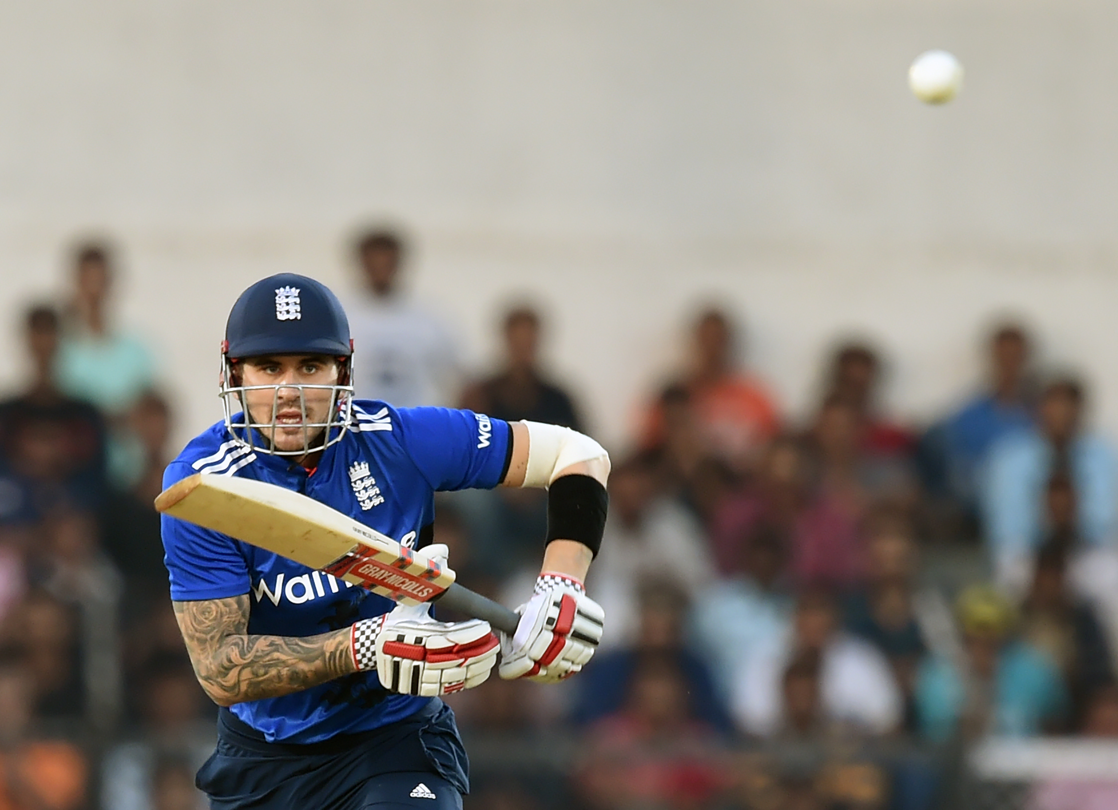England's opener Alex Hales seems to be a good fit for IPL teams. AFP