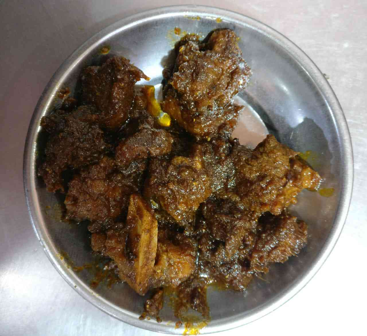 The pagla bhuna, crazy roast, at Bengal Hotel on Ripon Street