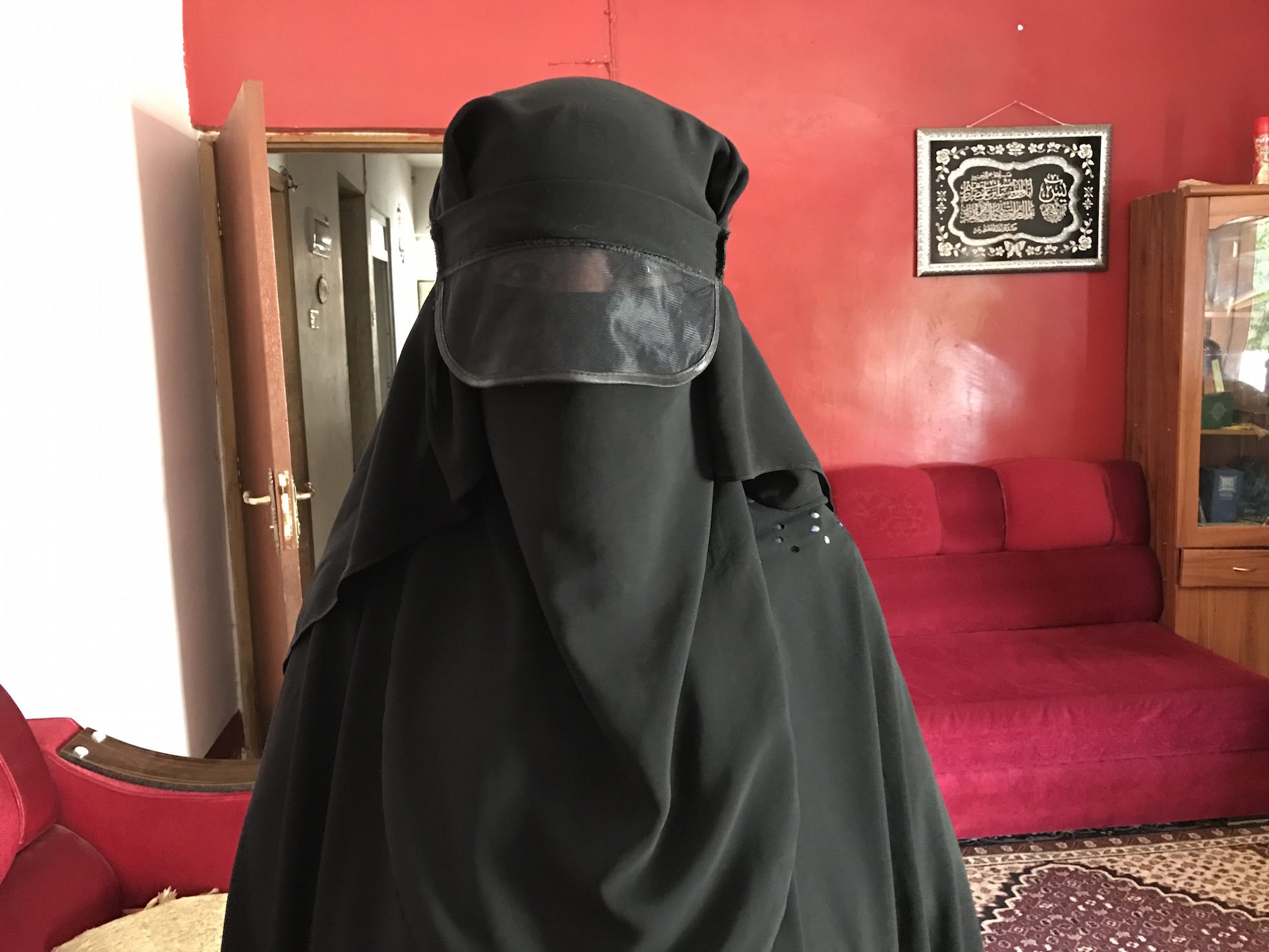 Nawal had to cover even her eyes before stepping out of home while ISIS controlled Mosul.
