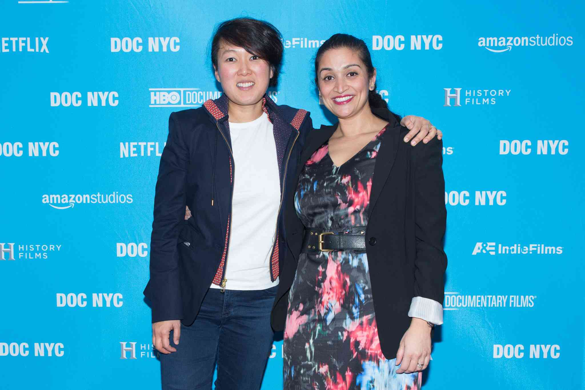 Ann S Kim (left) and Priya Giri Desai.