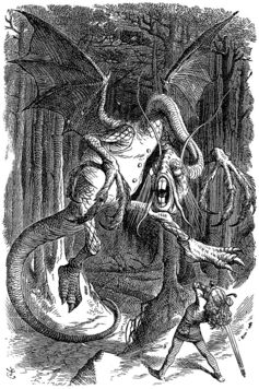 Beware the Jabberwock! John Tenniel