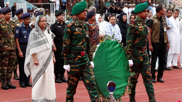 Prime Minister Sheikh Hasina's aide has claimed that she authorised a number of secret detentions. (Credit: Reuters)