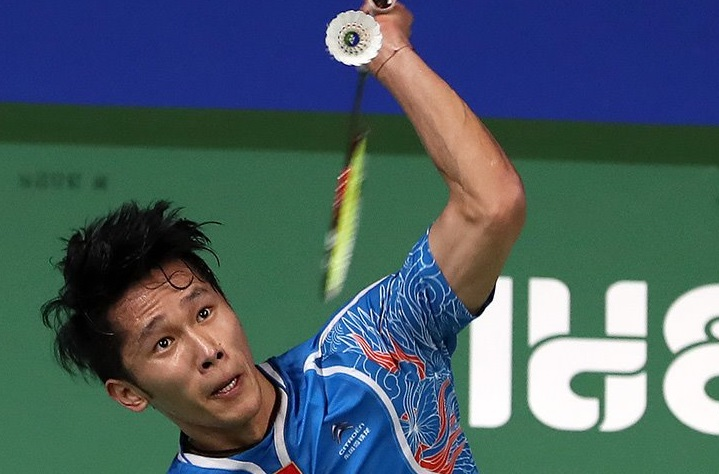 Tian Houwei | Photo courtesy: BWF