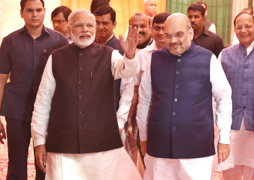 The Opposition may stand a chance against the BJP's Modi-Shah duo by carefully crafting small alliances state by state. (Credit: Raj K Raj / HT)