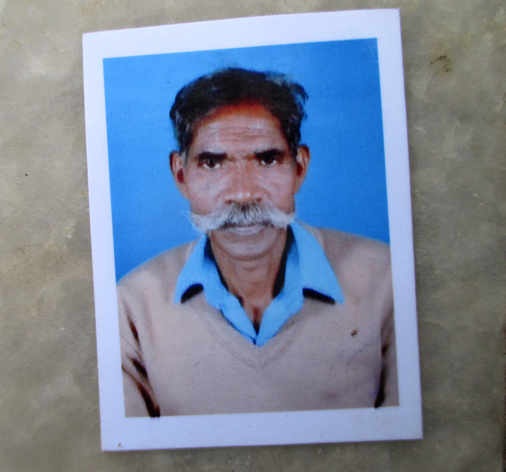 Abhram Mundu, who was killed when police fired at protestors trying to reach a rally to oppose amendments to Chotanagpur Tenancy Act, Santhal Pargana Tenancy Act.
