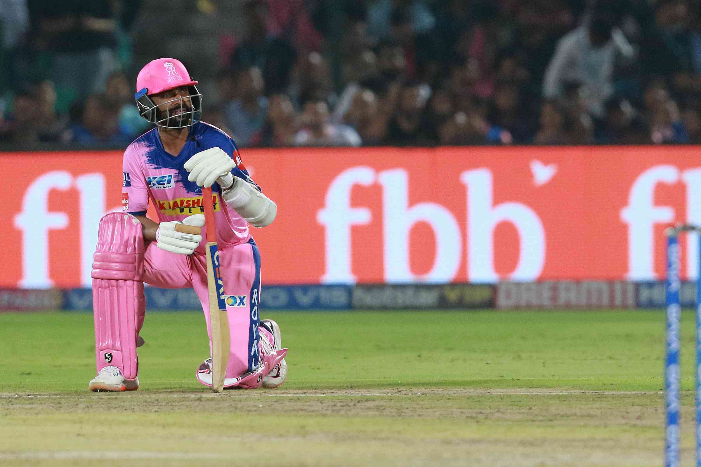 Ajinkya Rahane during IPL 2019 – Rahul Gulati / Sportzpics for BCCI