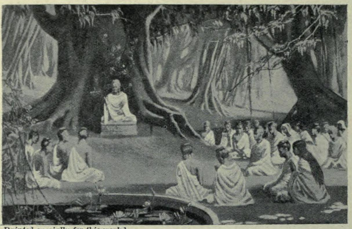 Buddha established a monastic order which preached that 'desire is the cause of suffering'. Picture courtesy Wikimedia Commons