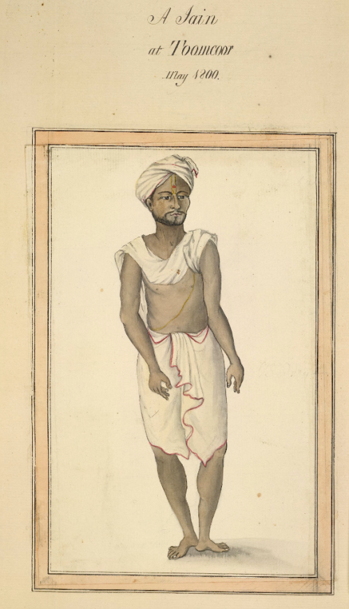 A Jain from Tumkur (Karnataka), May 1800 (BL WD1069, f.24)