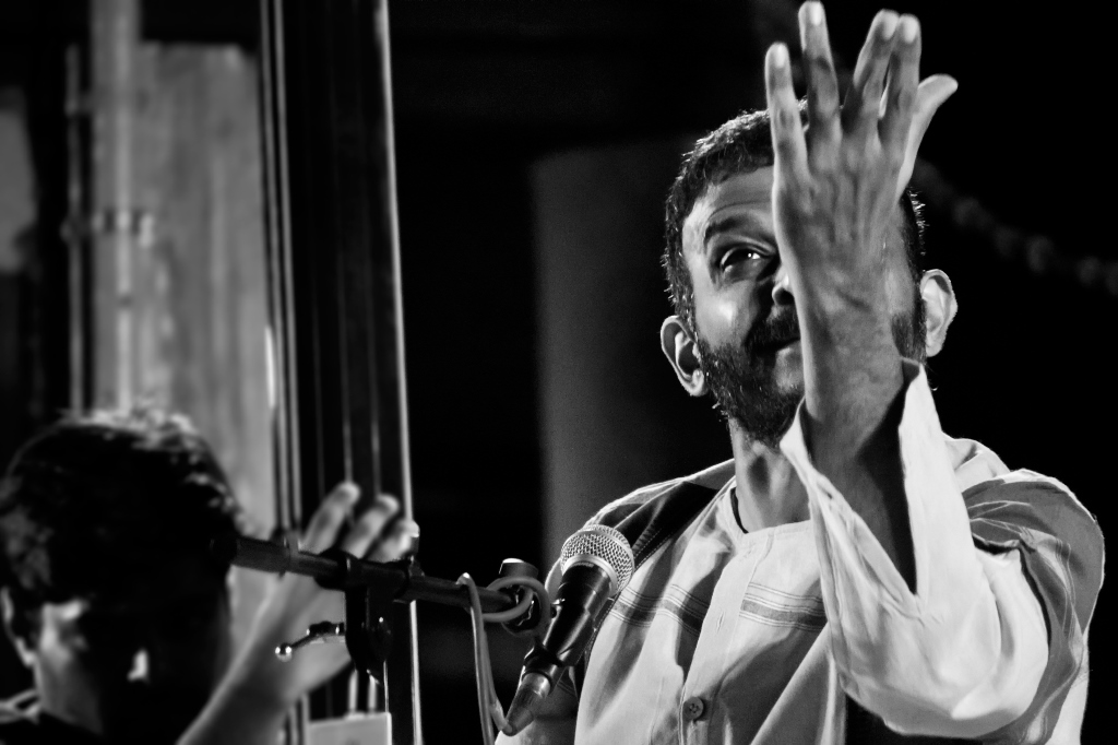 TM Krishna. Photo credit: Bharat Tiwari