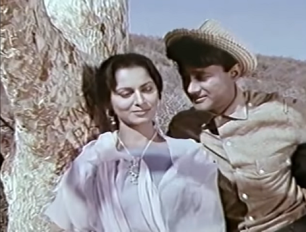 Waheeda Rehman and Dev Anand in The Guide (1965). Courtesy Stratton Productions/Navketan International.