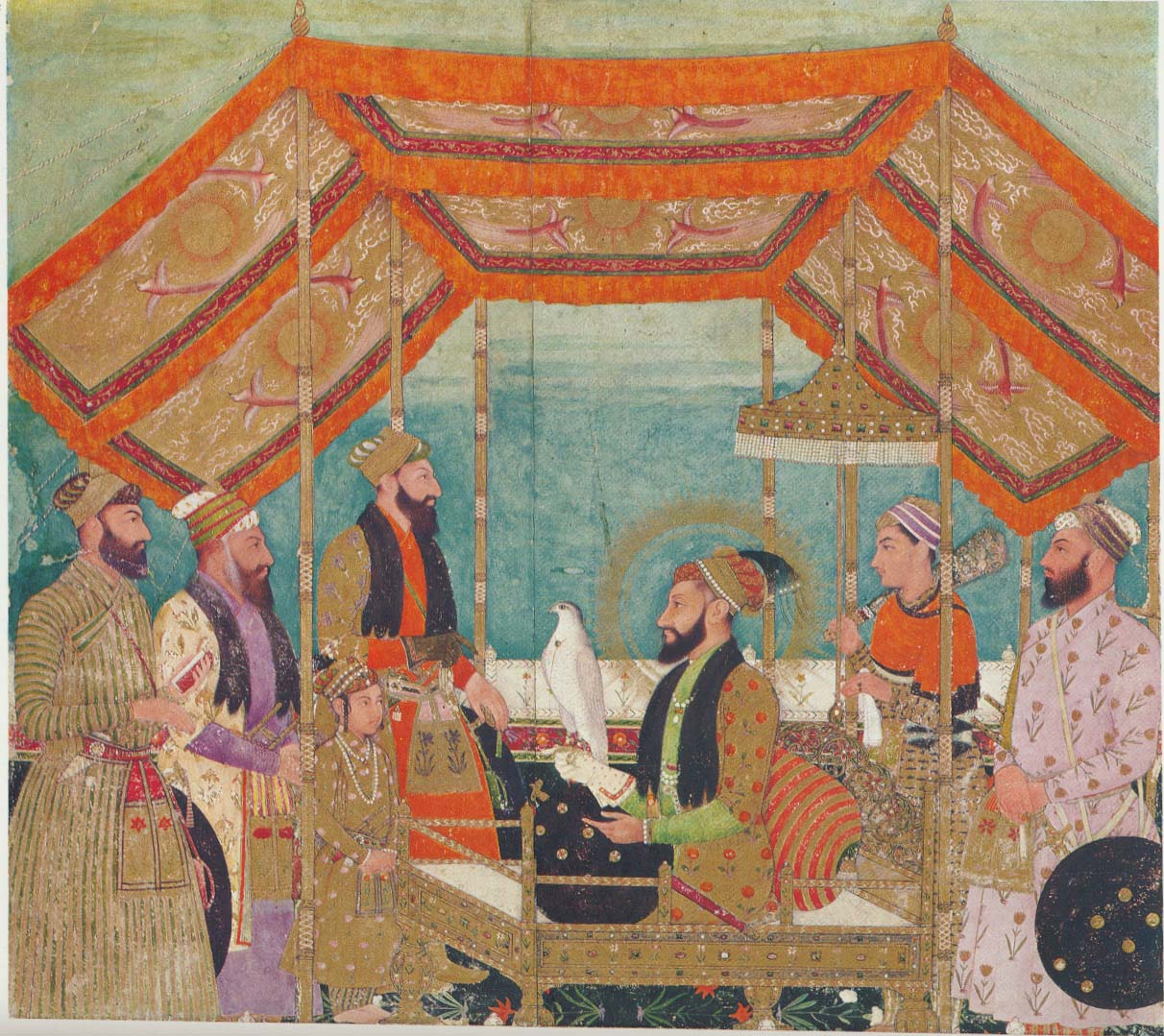 Guru Tegh Bahadur was assassinated on Aurangzeb's (above) orders, pitting his son, Guru Gobind Singh, in a battle with the Mughal emperor.