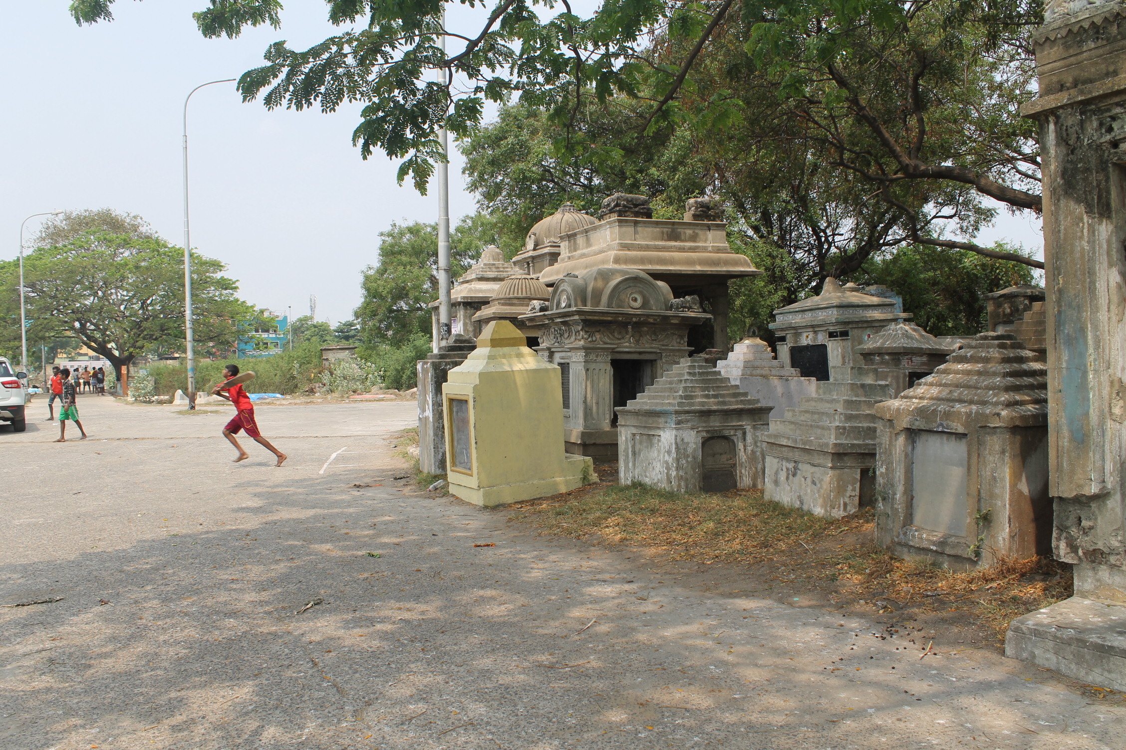 The cemetery ground of Moolakothalam. Credit: By special arrangement