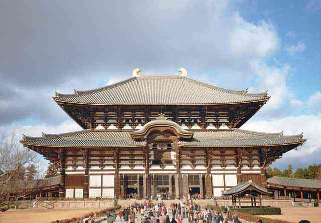 Japan's NaraTodaiji. Photo Credit: Wikimedia Commons [Licensed under CC BY 3.0]