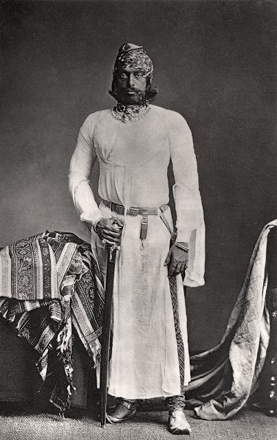 Jodhpur, His Highness, Maharaja Jaswant Singh II, G.C.S.I./Bourne & Shepherd, c. 1877. Courtesy: MAP/Tasveer