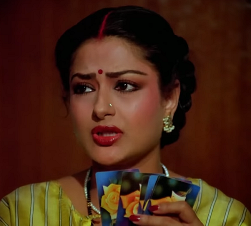 Moushumi Chatterjee in Angoor (1982). Courtesy AR Movies.