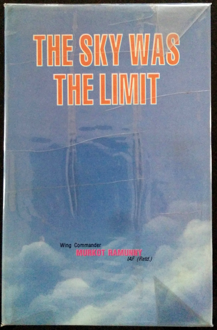 The cover of Ramunny's book 'The Sky Was the Limit'.