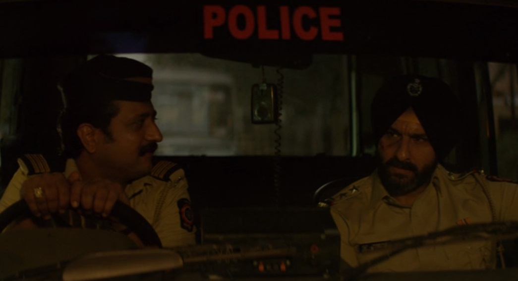 Jitendra Joshi and Saif Ali Khan in Sacred Games. Courtesy Netflix.