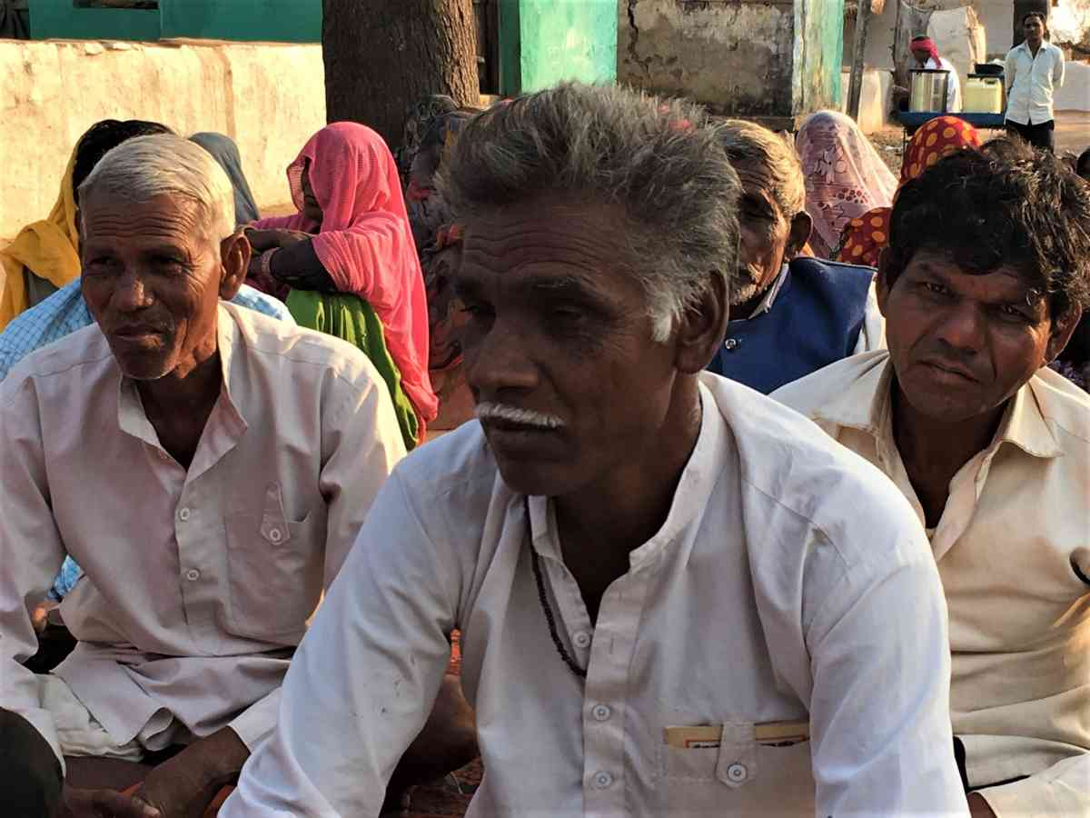 Sahariyas in Khairai village in Rajasthan's Baran district complained that they do not receive rations on time and blamed the point of sale machine for not registering their fingerprints. (Photo credit: Akash Bisht).
