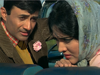 Dev Anand and Vyjayanthimala in Jewel Thief.