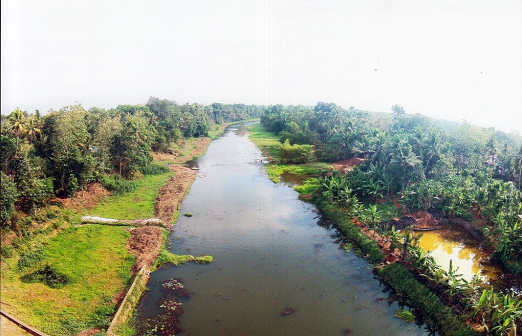 Kuttamperoor river in Alappuzha was recently cleaned. Photo credit: TA Ameerudheen.