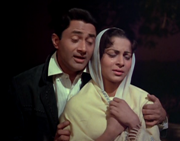 Dev Anand and Waheeda Rehman in Vijay Anand's Guide (1965). Courtesy Navketan International.