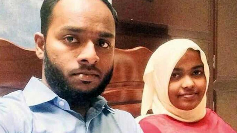 Hadiya and Shafin Jahan married in December. Jahan petitioned the Supreme Court against the Kerala High Court's decision to annul their marriage. (Credit: HT)