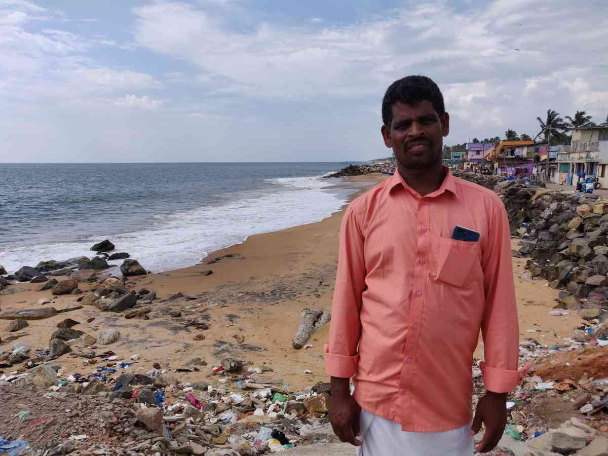 Joseph Francis, a fisherman from Poonthura, says he does not want to risk his life out at sea anymore.