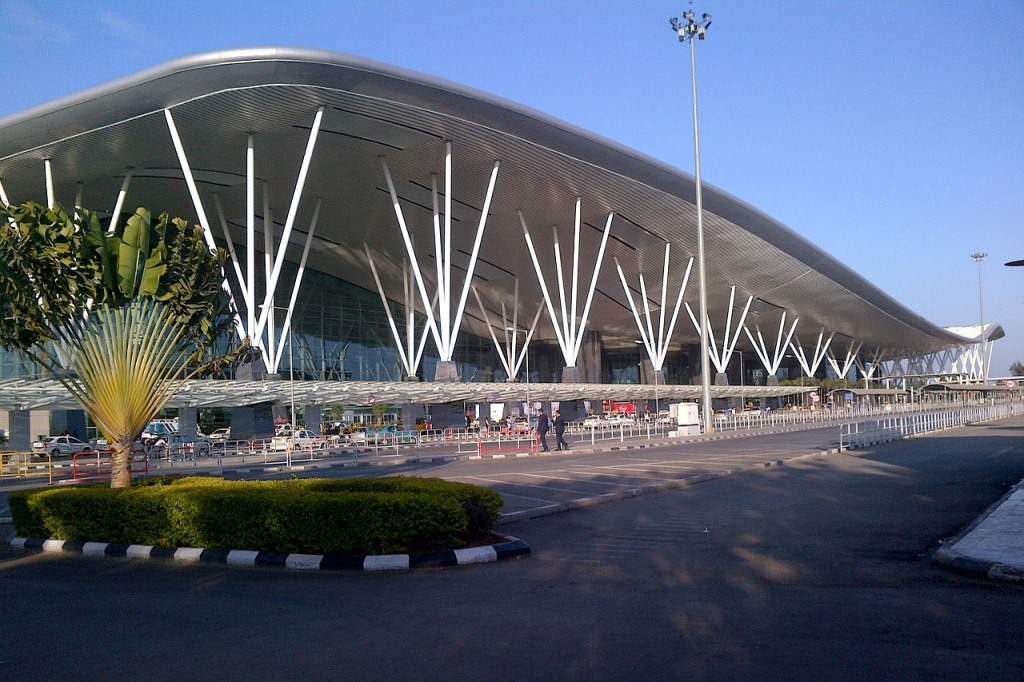 Kempegowda International Airport. Credit: Pixabay/Wikimedia Commons [Licensed under Creative Commons Zero]