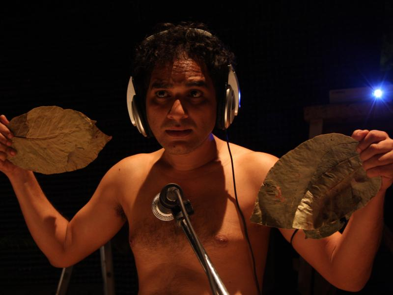 Ritwick Chakraborty as Tarak in Shabdo (2013). Image credit: Rose Valley Productions.