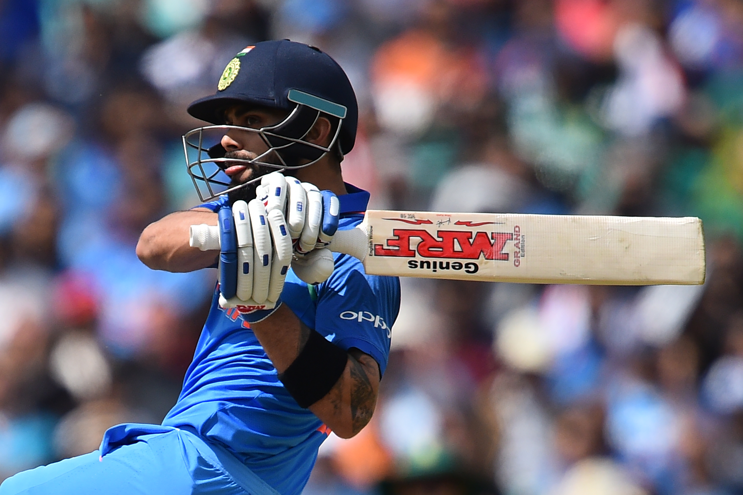 Virat Kohli is batting effortlessly against South Africa. Photo: AFP