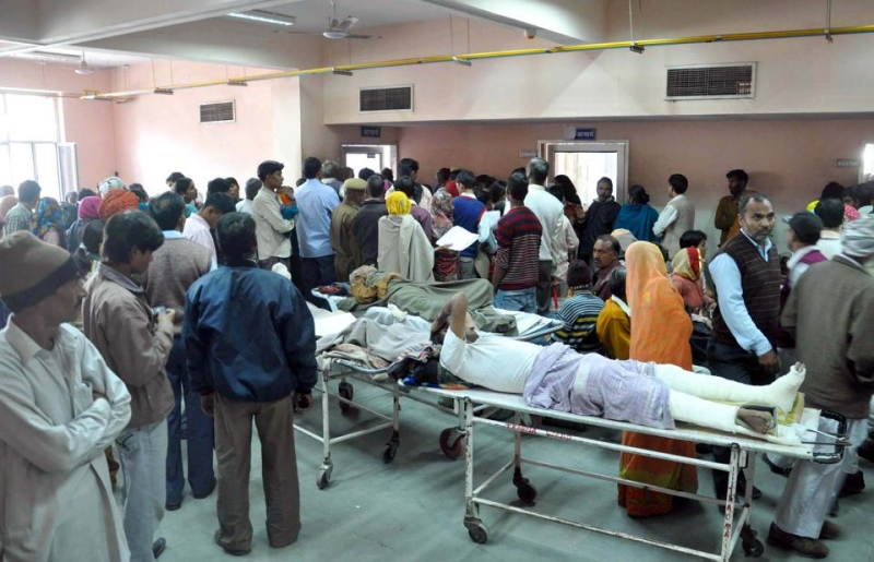Patients at a government hospital. (Photo credit: HT).