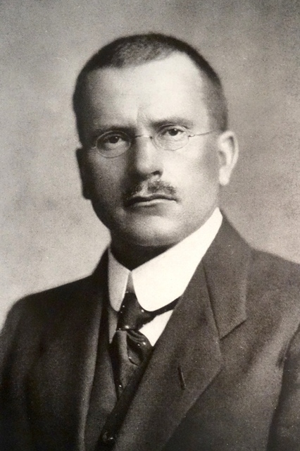 Carl Jung. Photo credit: Wikimedia Commons [Public Domain]