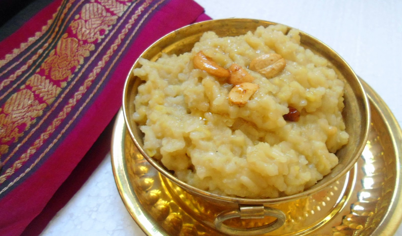 Pongal. Image credit: Babithajcosta/Wikimedia Commons [CC Attribution-SA 4.0 International licence]