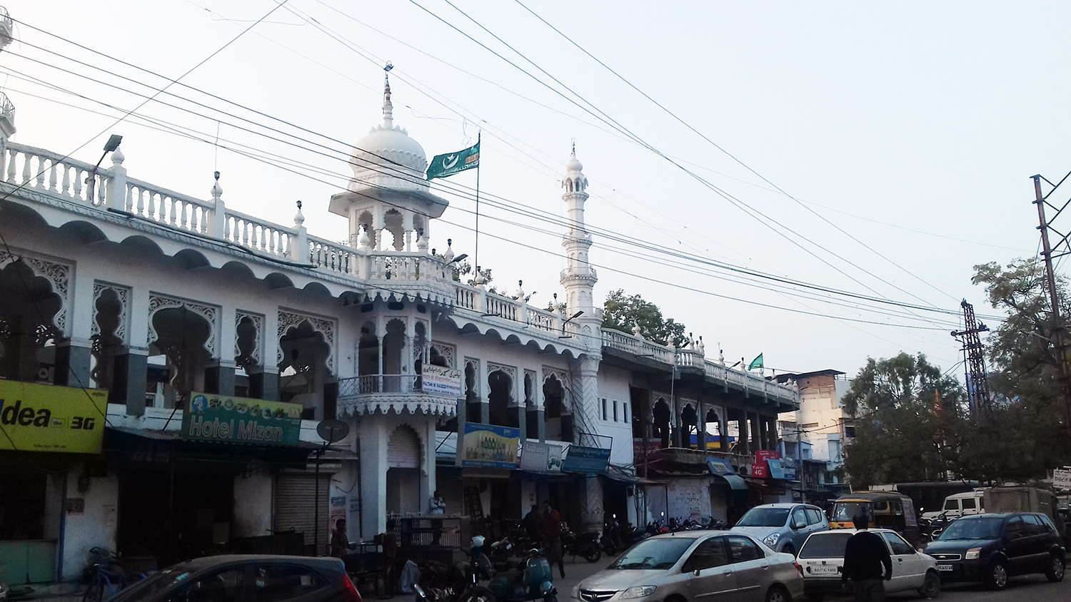 The Paltan ki Masjid in Udaipur's Chetak Circle. (Photo credit: Abhishek Dey).