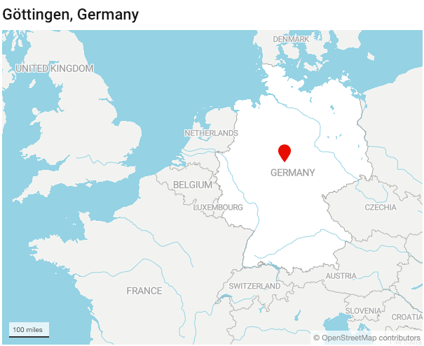 Map Of Germany Gottingen.How One German City Developed And Lost Generations Of Math Geniuses