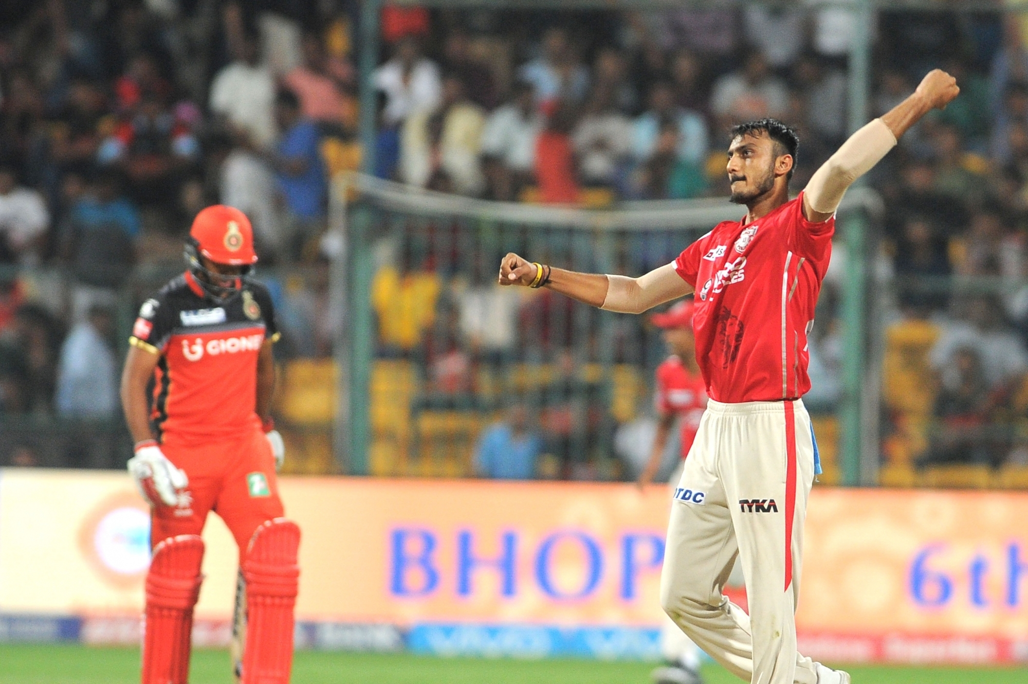 Axar Patel was the only player retained by KXIP (Image: IANS)