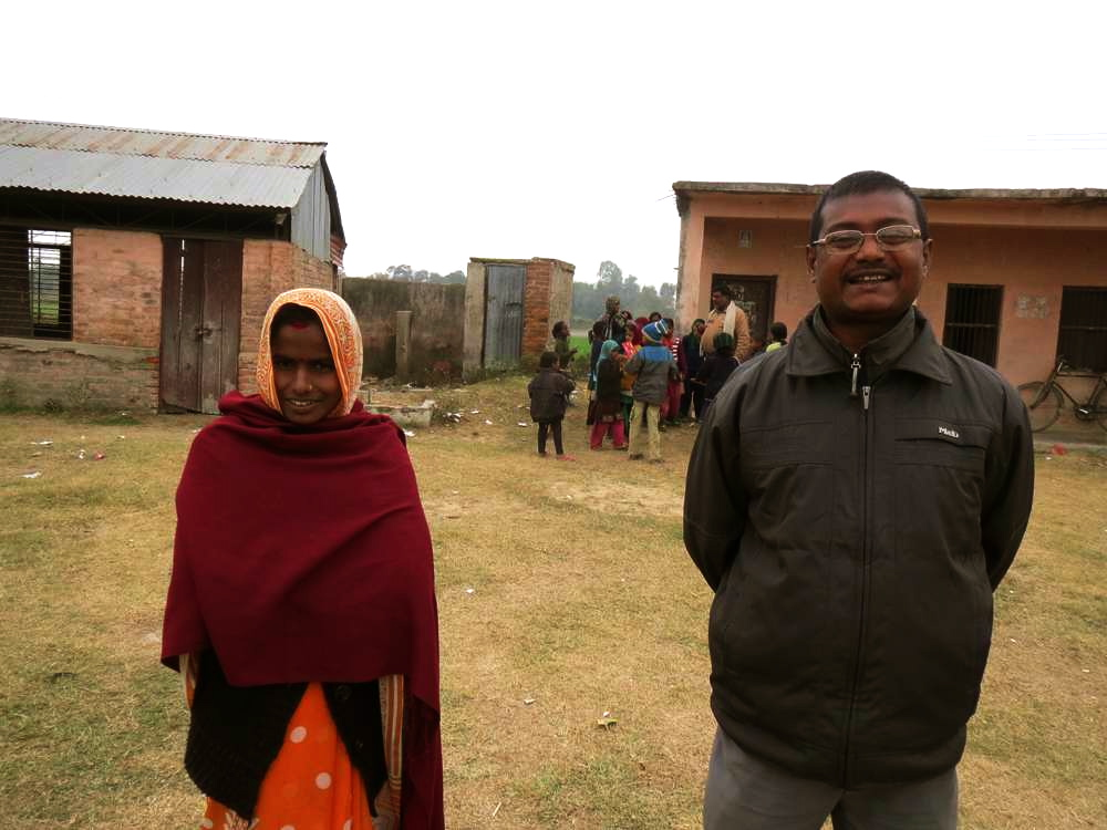 Lalita Sani and Genalal Sani are the two Janjati among eight teachers at a government primary school in Dhanusa district