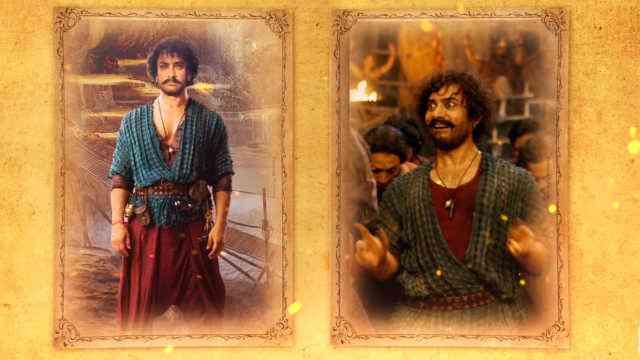 Aamir Khan's Firangi in Thugs of Hindostan. Courtesy Yash Raj Films.
