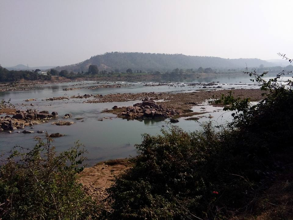 Ken river in Panna district in January.  (Photo: Raksha Kumar).