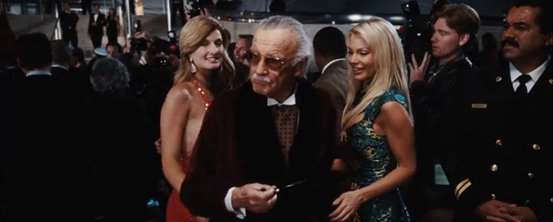 Stan Lee in Iron Man (2008). Courtesy Marvel Studios.